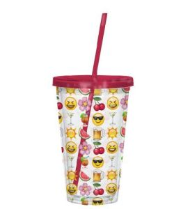 Cup with Straw pictures & photos