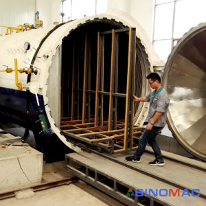 2500X5000mm CE Certified Bus Windshielf Glass Laminated Autoclave (SN-BGF2550) pictures & photos