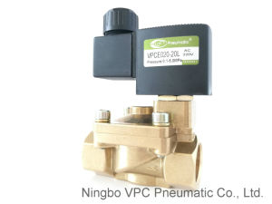 Slg Series High Pressure Brass Solenoid Valve pictures & photos