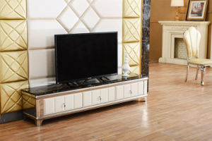 MDF Top TV Stand with Drawers Hot Sale pictures & photos