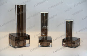 New Arrival Brown Acrylic Bottle&Jar for Cosmetic Packaging (PPC-CPS-080) pictures & photos
