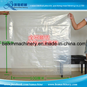 HDPE LDPE LLDPE Plastic Film Flat Bag Making Machine pictures & photos
