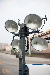 Industrial Usage Mobile Light Tower Kl06t Powered by Kipor Diese Engine pictures & photos