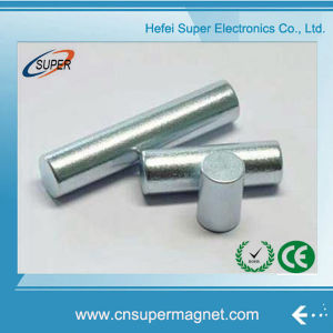 Sintered Rare Earth Permanent Cylinder NdFeB Magnet pictures & photos