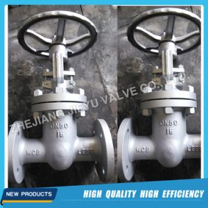 Pn10 Dn450 Carbon Steel Wcb Rising Stem Gate Valve pictures & photos