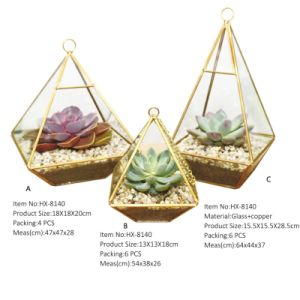 Transparent Glass Storm Lantern Manufacturer pictures & photos