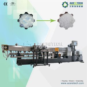 Twin Screw Extruder and Pelletizing System for Pet Recycling pictures & photos