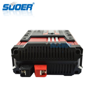 Suoer 1500W 24V 220V DC to AC Pure Sine Wave Solar Power Inverter (FPC-D1500B) pictures & photos