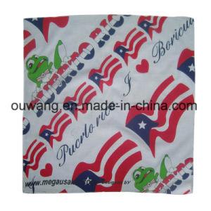 Wholesale Different Deisgn Multi Use White Cotton Bandana pictures & photos