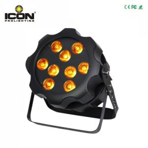 Outdoor 9PCS RGBWA UV 6in1 LEDs PAR Light pictures & photos