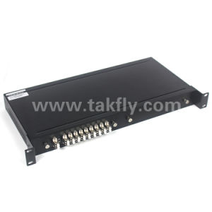 Mux/Demux 8+1CH Rack Mount Fiber Optic CWDM pictures & photos