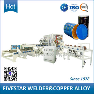 3 Phase Frequency Control High Speed Steel Oil Drum Seam Welding Machine pictures & photos