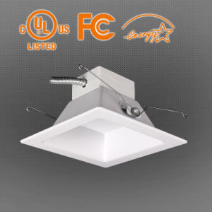 "Ra 90 100lm/W 6"" Square LED Down Light for Houshould pictures & photos"