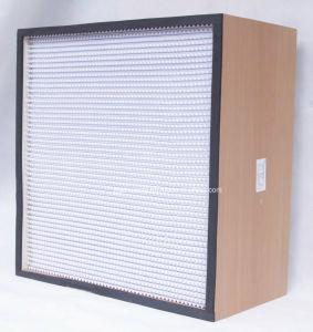 MDF Aluminum Foil Separator HEPA Filter pictures & photos