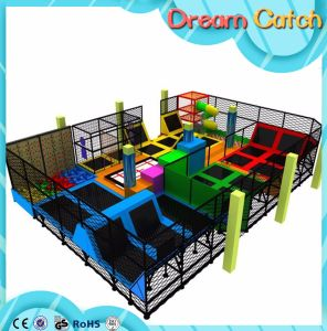 Customized Made Trampoline Indoor Trampoline Bed in Park pictures & photos