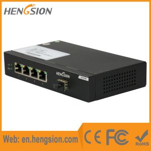 4 Gigabit Tx and 1 Gigabit SFP Access Ethernet Switch pictures & photos