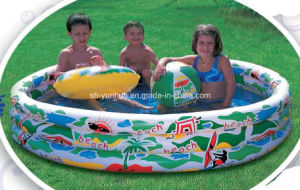 Inflatatble 3-Ring Pool pictures & photos