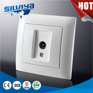 1 Gang Television Wall Socket European Standard Ce Certificate pictures & photos