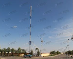 Integrated Telescopic Steel Tower Station pictures & photos