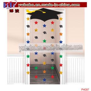 Graduation Caps Party Foil Door Doorway Curtain Decoration (P4097) pictures & photos