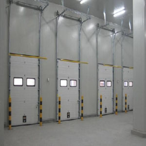 High Speed Industrial Sectional Sliding Garage Door pictures & photos