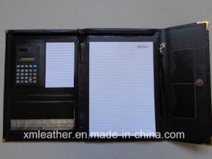Leather Trifolder Business Planner Portfolio File Folder pictures & photos
