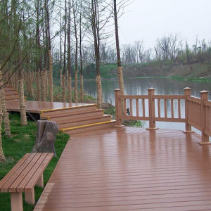 Sales Promotion PE Wood Plastic Composite pictures & photos