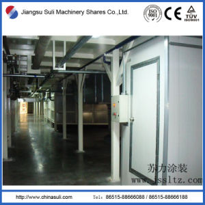 Hight Quality First Floor Automotive Painting Coating Line pictures & photos