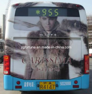 Advertising Bubble Free Grey Glue Self Adhesive PVC Vinyl PVC Sticker Printing pictures & photos