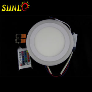 12 Watt RGB Round LED Surface Panel Light with Cheap Size pictures & photos