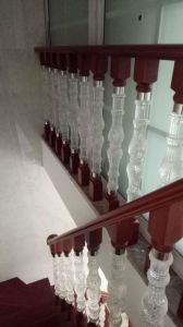 New Design of Acrylic Solid Wood Staircase pictures & photos