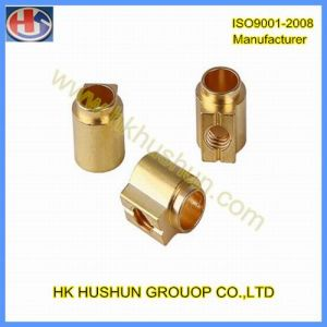 Custom CNC Turning Parts CNC Machining Parts with Copper (HS-TP-011) pictures & photos