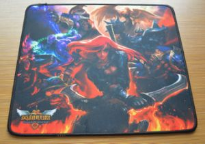 High Quality Rubber Game Mouse Pad pictures & photos