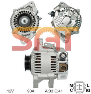 Nippondenso Alternator 27060-21080 102211-2330 pictures & photos
