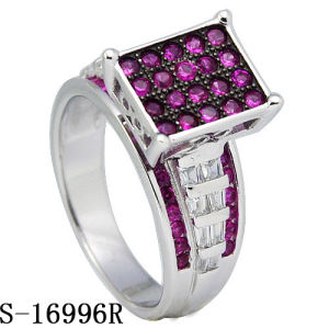 925 Sterling Silver Jewelry Ring with Diamond pictures & photos