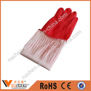 Long Rubber Wash Cleaning Gloves pictures & photos