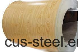 Matt Cover PPGI/PPGL/Wooden Color Steel Coils/Wooden Pattern PPGI pictures & photos