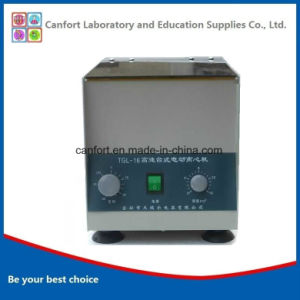 16000rpm High Speed Lab Centrifuge Tgl-16 with Good Price pictures & photos