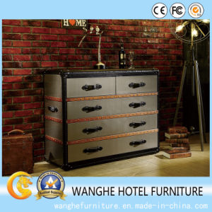 Modern Home Furniture Strong Metal Clothes Cabinet pictures & photos