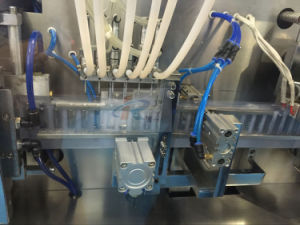 Ggs-118 P5 30ml Fruit Jelly PE Bottle Automatic Filling Sealing Machine pictures & photos