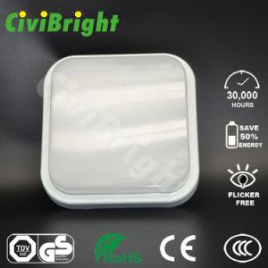 Plastic IP64 15W Squre LED Bulkhead Outdoor Lamp pictures & photos
