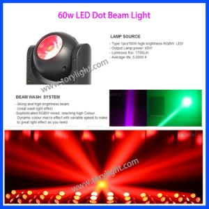 LED Lighting Moving Head 60W Mini Beam DOT Light pictures & photos