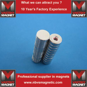N35 N40 N45 N48 N52 Magnet with Zn Ni Epoxy Gold Silver Coating pictures & photos