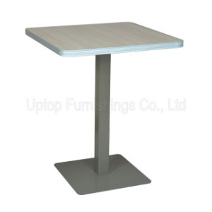 (SP-RT514) Wholesale Australian Cafeteria Fast Food Plywood Table pictures & photos
