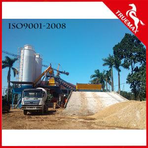 Popular Horizontal/Twin-Shaft Mobile Concrete Plant/Concrete Mixing Machine60 pictures & photos