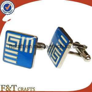 2017 High Fashion Promotional Cufflink with Your Logo pictures & photos