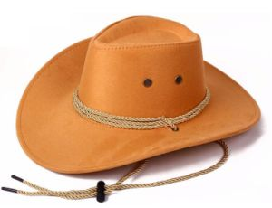 High Quality Cowboy Hat Promotional 100% Polyester Cowboy Hat pictures & photos