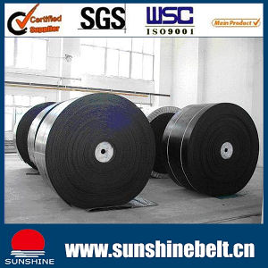 Steel Cord Conveyor Belt Ep100 10MPa Large Tensile Strength Excellent Troughability and Excellent Flexing Resistance pictures & photos