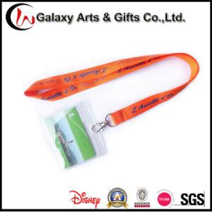 School PVC Card ID Holder with Lanyard Stationery Custom Logo