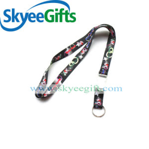 Custom Polyester Lanyard Printed Logo for Medals pictures & photos